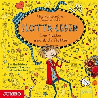 Mein Lotta-Leben - Eine Natter macht die Flatter, 1 Audio-CD