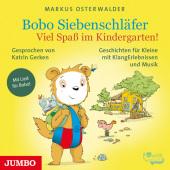 Bobo Siebenschläfer - Viel Spaß im Kindergarten!, 1 Audio-CD Cover