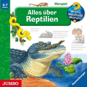 Alles über Reptilien, 1 Audio-CD