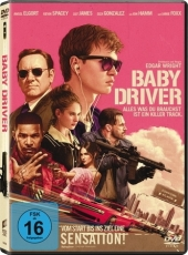 Baby Driver, 1 DVD Cover