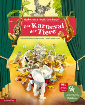 Der Karneval der Tiere, m. Audio-CD Cover