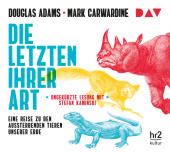 Die Letzten ihrer Art. Eine Reise zu den aussterbenden Tieren unserer Erde, 6 Audio-CDs Cover