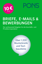 PONS Briefe, E-Mails & Bewerbungen Cover