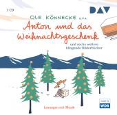 Anton und das Weihnachtsgeschenk und acht weitere klingende Bilderbücher, 1 Audio-CD Cover