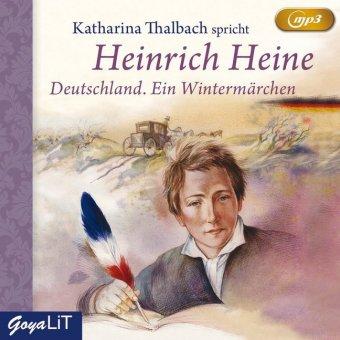 Deutschland. Ein Wintermärchen, 1 MP3-CD