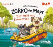 Zorro, der Mops - Der Held vom Sommersee, 2 Audio-CDs
