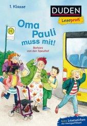 Duden Leseprofi - Oma Pauli muss mit! Cover