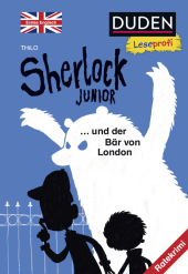 Sherlock Junior und der Bär von London, Erstes Englisch Cover