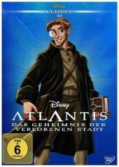 Atlantis - Das Geheimnis der verlorenen Stadt, 1 DVD Cover