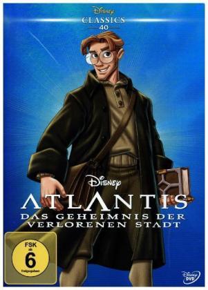 Atlantis - Das Geheimnis der verlorenen Stadt, 1 DVD
