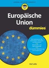 Die Europäische Union für Dummies Cover