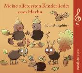 Meine allerersten Kinderlieder zum Herbst, 1 Audio-CD Cover
