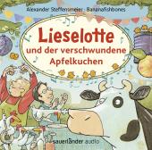 Lieselotte und der verschwundene Apfelkuchen, 1 Audio-CD Cover