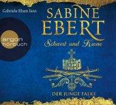 Schwert und Krone - Der junge Falke, 7 Audio-CD Cover