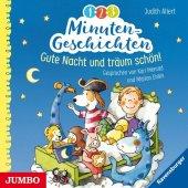 1-2-3 Minutengeschichten - Gute Nacht und träum schön!, 2 Audio-CD