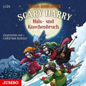 Scary Harry - Hals- und Knochenbruch, 3 Audio-CD Cover