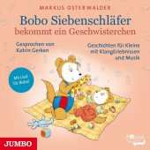 Bobo Siebenschläfer bekommt ein Geschwisterchen, 1 Audio-CD Cover