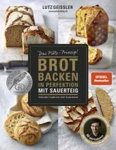 Brot backen in Perfektion mit Sauerteig Cover