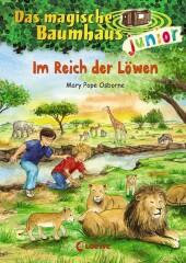Das magische Baumhaus junior - Im Reich der Löwen Cover