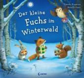 Der kleine Fuchs im Winterwald Cover