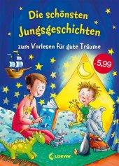 Die schönsten Jungsgeschichten zum Vorlesen für gute Träume Cover
