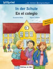In der Schule, Deutsch-Spanisch;En el colegio Cover