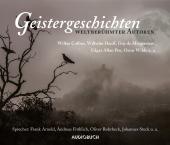 Geistergeschichten weltberühmter Autoren, 8 Audio-CDs Cover
