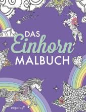 Das Einhorn-Malbuch Cover