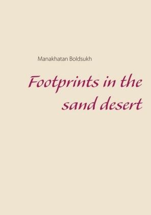 Footprints in the Sand Desert