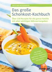Das große Schonkost-Kochbuch Cover