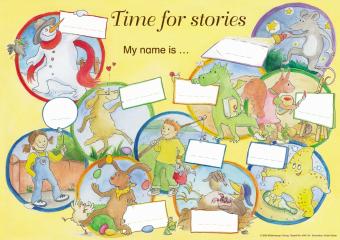 Das Poster zu den Kurzgeschichten