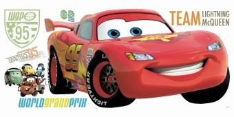 RoomMates - DISNEY Cars 2 Lightning McQueen