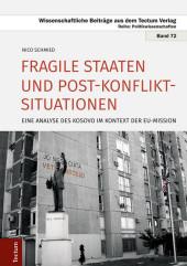 Fragile Staaten und Post-Konflikt-Situationen