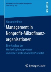 Management in Nonprofit-Mikrofinanzorganisationen