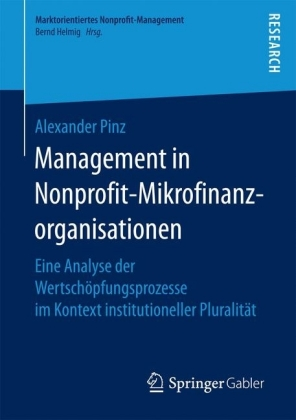 Management in Nonprofit-Mikrofinanzorganisationen