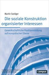 Die soziale Konstruktion organisierter Interessen