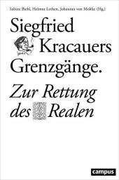 Siegfried Kracauers Grenzgänge