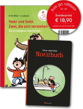 Vater und Sohn: Zwei, die sich verstehen, Buch plus Notizbuch