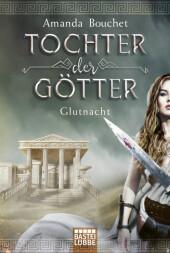 Tochter der Götter - Glutnacht Cover
