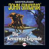 John Sinclair - Die Kreuzweg-Legende, 1 Audio-CD Cover