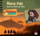 Abenteuer & Wissen: Marco Polo, Audio-CD Cover