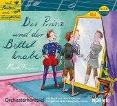 Der Prinz und der Bettelknabe, Audio-CD Cover