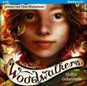 Woodwalkers - Hollys Geheimnis, 4 Audio-CDs Cover