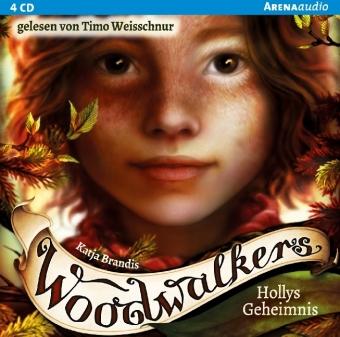Woodwalkers - Hollys Geheimnis, 4 Audio-CDs