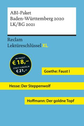 Abi Paket Baden Württemberg 201920 Faust I Der Goldne Topf Der