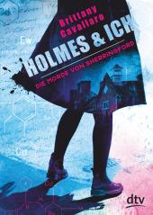 Holmes & ich - Die Morde von Sherringford Cover