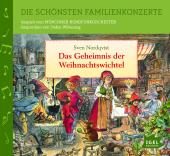 Die schönsten Familienkonzerte - Das Geheimnis der Weihnachtswichtel, 1 Audio-CD Cover