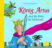 König Artus und die Ritter der Tafelrunde, 1 Audio-CD Cover