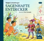 Sagenhafte Entdecker, 2 Audio-CDs Cover