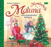 Maluna Mondschein - Adventskalenderhörbuch, 1 Audio-CD Cover